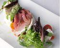 【プリフィクスコース】厳選食材を使ったイタリアンに舌鼓!前菜+選べるパスタ+選べるメイン+ドルチェの全4品