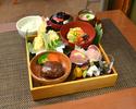 【白木の囲い弁当】ご家族お友達とのお食事に厳選素材で誂えた和洋料理を盛り込んだ人気のランチ