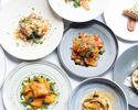 【PREFIX DINNER】お好きな料理をメニューからお選び頂けるプリフィックスディナー 全5皿