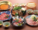 おうどんのお鍋コース (5,500円)