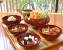 桜の季節にちなんだ吟食材で彩る春限定「桜御花観昼御膳」