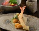Book a tempura seat (Saturdays, Sundays, and holidays lunch time)