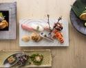 寿司ディナー「華」 にぎりはお好みの八貫がいただける贅沢なコース