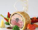 【シェフおすすめディナー】厳選食材を使用した豪華フルコース!メインは人気のアルモニービーフ!