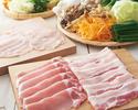 【豚と国産銘柄鶏】食べ放題コース 2780円(税抜)