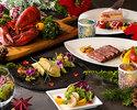 【クリスマス限定ディナー】クリスマス ペアディナーBコース          1部 18:00~19:45  2部 20:00~21:45