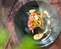 lunch:【当店一番人気ランチ】旬の野菜や魚を使用した人気ランチ全5皿 ¥3,800