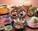 おうどんのお鍋コース (6,500円)