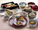 【天寿会席】Traditional Japanese dinner menu