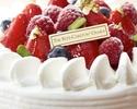 【オプション】ストロベリーショートケーキ:4号サイズ(3~4名様)