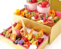【WEB限定】¥9,000-ホールケーキorデザート盛合せをチョイス フリードリンク付 記念日ディナー