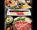 特選黒毛和牛のすき焼きコース 6000円(全9品)