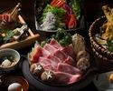 黒毛和牛特選すき焼きコース 2時間飲み放題付き 6000円(税込)