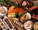 《 12/21~23 》1部:クリスマスディナーブッフェ120分/¥8,800