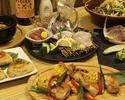 旬の料理3時間!6品+豪華VIP飲み放題コース4000円