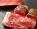 Dry aged Japanese black beef's tenderloin steak from Kagoshima Prefecture of Hiramatsu Ranch (100 g)