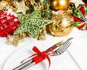 【Xmas2017 12/15~22】乾杯ドリンク付!ELLE caféが贈るクリスマス特別コース6品<プレノエル>