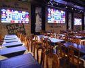 【WEB予約限定★10名以上で1名無料★4600円】1階テーブル席でにぎやかにパーティを!豪華ステーキ&特製パスタなど7皿×3時間飲み放題コース