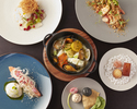 【Online Only x Limited tables】Dinner course 4 plates