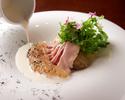 【Dinner】4 plates 6,800 yen ( Recommended)