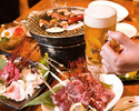 【All you can eat yakiniku premium barbecued 110 kinds】