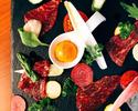 【VIPルーム限定】季節の食材を味わう「シェフお薦めコース」