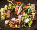 【VIPルーム限定】かつべ牛などの豪華食材 「Lasen特製コース」