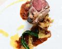 イリゼ フルコースランチ Wメインは旬のお魚料理とお肉料理!(メインを和牛に+料金でご変更もできます