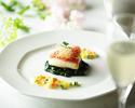 ホリデースペシャルコース(メインディッシュ魚料理)