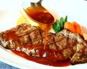 ブラックアンガス牛サーロインステーキ