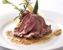 [ローストビーフ&デザート食べ放題コース]10時間低温でじっくり調理したローストビーフが食べ放題!