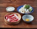 【ランチ】黒毛和牛のすき焼きセット