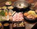 Shabu-shabu and Pork cutlet course