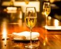 Web限定『記念日コース』特選A5黒毛和牛、活車海老等 全7品 スパークリングワイン&デザートプレート付き!