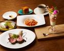 <プリフィクスコース>選べるパスタと薪焼きグリル!季節の前菜含む全5品
