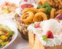 ≪お食事付きDVD鑑賞パック≫ ソフトドリンク飲み放題+料理3品+選べるハニトー