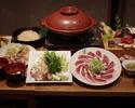 Duck pot course (4000 yen)