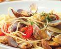 【選べるワンドリンク付】前菜、選べるピッツァ&パスタ&メイン、デザート盛り合わせ、食後のカフェ全5品
