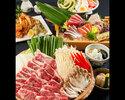 春野菜と牛肉の旨辛陶板焼きコース 4000円(全9品)