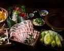 【数量限定】~黄金出汁~イベリコ豚のしゃぶしゃぶコース 3500円(全6品)