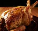 牛ロースステーキ&オーガニックロティサリーチキンが味わえる飲み放題2.5時間付き大皿パーティープラン全9品