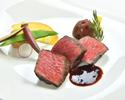 【12月】<イタリアーノ>山形県産米沢牛と三浦産有機野菜のステーキコース(2時間飲み放題付き)