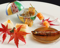 A traditional JP multiple course meal -MIYABI-