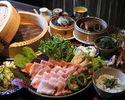 Okinawa cuisine and Yanbaru Island Agu steaming course【10ppl~】