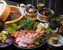 【2H All you can drink 】Okinawa cuisine and Yanbaru Island Agu steaming course【10ppl~】