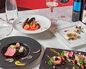 【Xmas2019】乾杯シャンパン付!黒毛和牛や豪華食材を使用 ~モダンイタリアンフルコース~