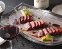 Pair lunch course - steak up grade