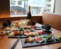 12月23日〜25日限定クリスマスコース!シャンパン1本付き!寿司おまかせ9貫 お一人様8500円