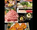 特選黒毛和牛の出汁しゃぶコース 7000円(全7品)