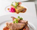 【平日限定ランチ】スパークリング付!旬を味わうズワイ蟹とウニのパスタ,前菜3種,銘柄豚のグリエ等全4品 2~4名様
